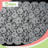58cm Popular Nylon Flower Design Swiss Trimming Lace for Bridal