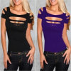 Sexy Slimming All-Match Nightclub Women T-Shirt (50143)