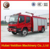 6 Wheels Fire Engine 45L/S Water Tank Fire Truck