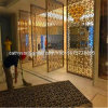 Sliding Room Divider Screen Stainless Steel Metal Screen Panel