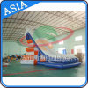 2017 Hot Simple Single Drop Fall Inflatable Water Slide Yacht Slide