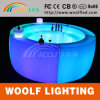 Round Straight Glow Hotel Restaurant LED Bar Table