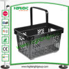 Grocery Store Plastic Hand Carry Shopping Basket for Sale