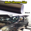 Matte Chrome Vinyl Film for Vehicle Wrapping