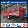 Cimc Huajun 3axle Gooseneck Stake/Cargo Semi Trailer