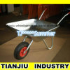 60L Galvanized Steel Garden Wheelbarrow Wb4024A