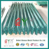 W or D Security Hot DIP Galvanized Steel Palisade Fence
