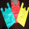 Printed Plastic T Shirt / Vest/Handle Packing Bag
