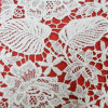 Water Soluble 100 Polyester Lace Fabric (L5154)