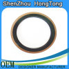 Copper Powder Filled PTFE + EPDM Rubber Gasket