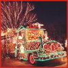 Beautiful Magic Colourful Christmas Train Lights 3D LED Motif Light with CE RoHS