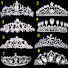Crystal Crown for Joining Wedding or Party Decoration