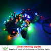 Good Quality Shining 10m 100LED Christmas String Lights Outdoor or Indoor Use Waterproof Rubber or PVC Wire All Colors Available