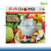 Transparent Swift Chopper White Green Manual Operation Multi-Function Broken Food Machine