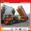 20FT 40FT Semi Container Tipping Trailer with Hydraulic Cylinder