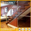 Post Glass Balustrade Stairs / Glass Railing Staircase for Office Decorate