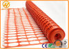 Anti-UV 100% Virgin HDPE Crowd Control Orange Plastic Barrier Fence