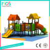 Outdoor Plastic Playground Equipment with Slide and Swing