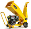 196cc Gas Power Wood Chipper Shredder Garden Shredder
