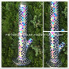 14 Inch Shining Glass Water Pipes with Mosaic Technique