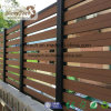 WPC Board and Aluminum Frame Material Wood Composite Garden Fence