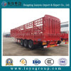 3 Axles Fence Transport Utility Cargo Stake Semi-Trailer