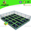 Big Kids Trampoline Park with Safety Net for Sale (3021E)