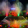 Music Dancing Fountain/ Colorful Lighting Flower Shape Outdoor Fountain
