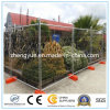Hot-DIP Galvanizing Temporary Fence Panel with Concrete Block and Clamps