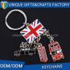 Souvenir Gifts Customized Flag Epoxy Metal Keychain