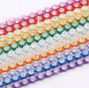 Ss8 a Colored Rhinestone Banding Plastic Cup Chain Pointback Stone Banding (TS-ss8/2.5mm)