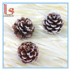 Christmas Decorations Adornment Accessories 5 Cm Dyed White Pinecone