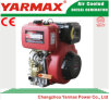 Yarmax Hand Start Air Cooled Single Cylinder 418cc 5.7/6.3kw 7.8/8.6HP Marine Diesel Engine Ym186fa