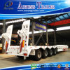 Aotong Brand 4 Axis Low Bed Semi Truck Trailer