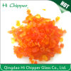 Orange Decorative Terrazzo Glass Chips