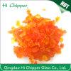Orange Decorative Terrazzo Glass Chips