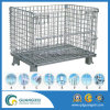 Galvanized Stackable Welded Wire Mesh Container for Warehouse