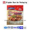 Custom 3 Side Seal Chicken Food Plastic Packaging Bags