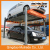 3000kg Ce Two Cars Remote Control Hydraulic Car Lift
