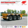 3 Axles 40FT Skeleton Semi Trailer with Competitive Price