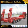 4 Rows 8 Axles Heavy Duty Multi Axle 150 Ton Low Bed Trailer with 32 Tires