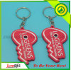 Promotion Soft PVC Key Rubber Key Ring (JN-F21)