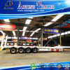 China Manufacturer Low Bed Semitrailer Dimensions with Extendable