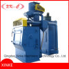 Tumblast Belt Rubber Shot Blasting Machine Abrator