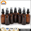 50ml Cosmetic Amber Oil Glass Bottle with Spray Pump