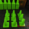 Green Fluorescent PVC Cones