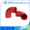 UL Listed& FM Approved Ductile Iron Grooved Pipe Coupling and Fitting/Grooved Tee/Mechanical Tee /Mechanical Cross Threaded out