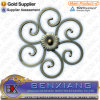 Fence Flower Panels Iron Main Gate Dectative Wrought Iron Rosettes