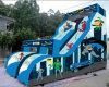 Giant Inflatable Super Hero Slide