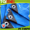 Waterproof PE Tarpaulin Sheet/ with Plastic Bar